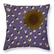 Volvox Sp. Algae Lm Throw Pillow