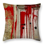 Voodoo Throw Pillow by Christo Christov