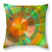 Vorticose Throw Pillow by ME Kozdron