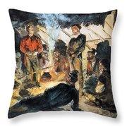Voyageurs Throw Pillow