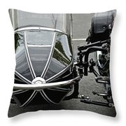 Vulcan Classic Side Car II Throw Pillow