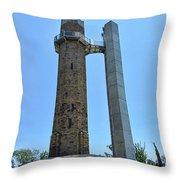 Vulcan Park Statue Birmingham Alabama Usa Throw Pillow