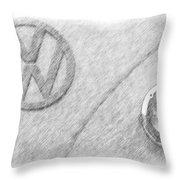 VW Throw Pillow