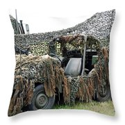 Vw Iltis Of The Special Forces Group Throw Pillow