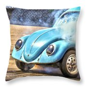 Vw Smoke Show Throw Pillow