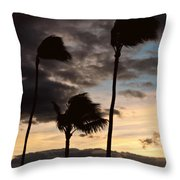 Wa'alaea Sunrise Throw Pillow