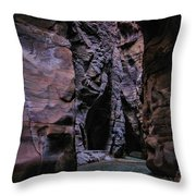 Wadi Mujib Jordan Throw Pillow