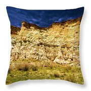 Wahweap Cliff Throw Pillow