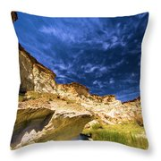 Wahweap Hoodoo Trail Throw Pillow