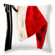 Waiting For Christmas Day Throw Pillow