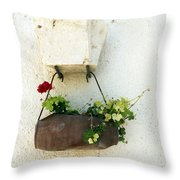 Waiting For The Meeting Throw Pillow