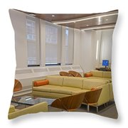 Waiting Room And Computer Lab Throw Pillow