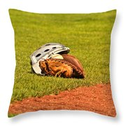 Waiting To Be Used Throw Pillow