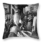 Wales: Rebecca Riots, 1843 Throw Pillow