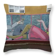Wall Art In Moose Jaw Throw Pillow