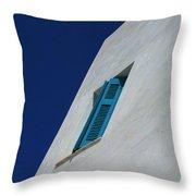 Wall Detail Mykonos Throw Pillow