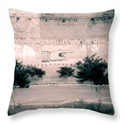 Wall Hand  Throw Pillow