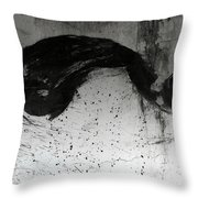 Wall Texture Number 1 Throw Pillow
