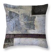 Wall Texture Number 12 Throw Pillow