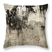 Wall Texture Number 9 Throw Pillow