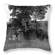 Wall Tree Throw Pillow