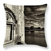 Walled-up Window Throw Pillow