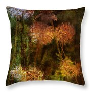 Wallflowers Of Dance  Throw Pillow