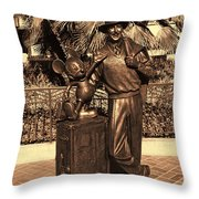 Walt And Mickey California Adventure Throw Pillow