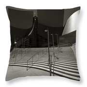 Walt Disney Concert Hall Throw Pillow