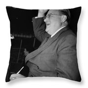 Walter Omalley (1903-1979) Throw Pillow by Granger
