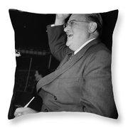 Walter Omalley (1903-1979) Throw Pillow