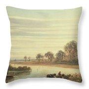 Walton On Thames Throw Pillow