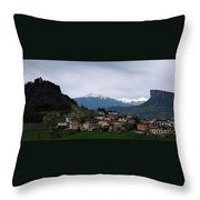 Wandering In Tuscany Throw Pillow