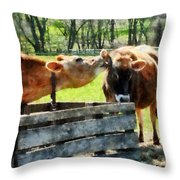Want To Hear A Secret Throw Pillow