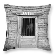 Wanted - Get Out Of Jail  Card  Throw Pillow