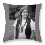 Wanted To Be Janis Joplin Throw Pillow