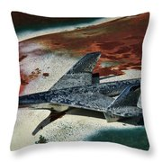 War Bird Throw Pillow
