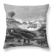 War Of The Pacific, 1879-1884 Throw Pillow
