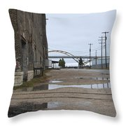 Warehouse And Hoan 1 Throw Pillow