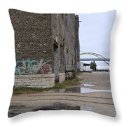 Warehouse And Hoan 2 Throw Pillow