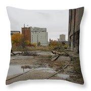 Warehouse Cold Storage 2 Throw Pillow