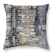 Warehouse Drain Pipe 1 Throw Pillow