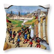 Warfare: Siege Of Arras Throw Pillow