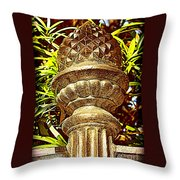 Warm Southern Welcome Throw Pillow