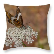 Warm Summer Day Throw Pillow