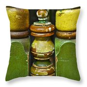 Warm With Human Touch Throw Pillow