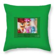Warmth And Joy Throw Pillow