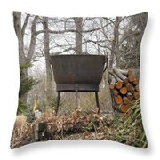 Warmth For The Lost  Throw Pillow