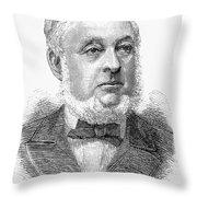 Warren De La Rue (1815-1889) Throw Pillow