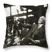 Warren G. Harding Throw Pillow by Granger